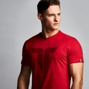 IAMTORO T-Shirt Icon Rood side