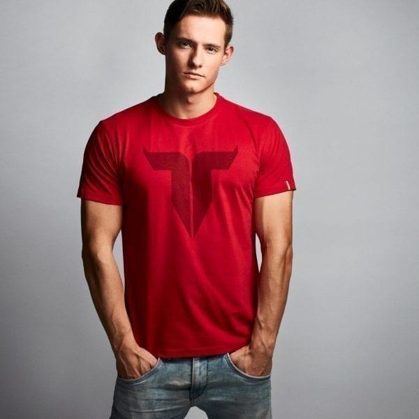 IAMTORO T-Shirt Icon Rood front