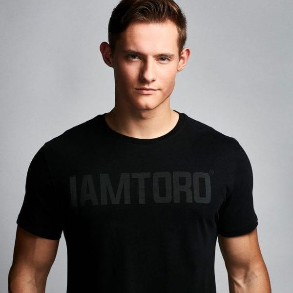 IAMTORO T-Shirt Logo Zwart zoom