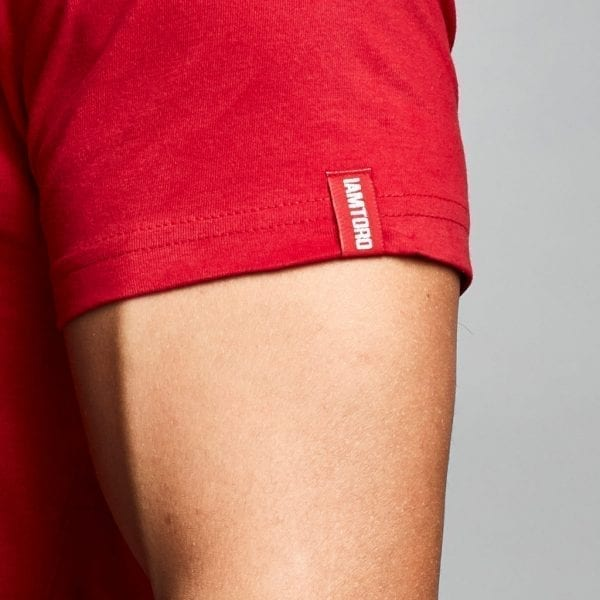 IAMTORO T-Shirt Icon Rood sleeve