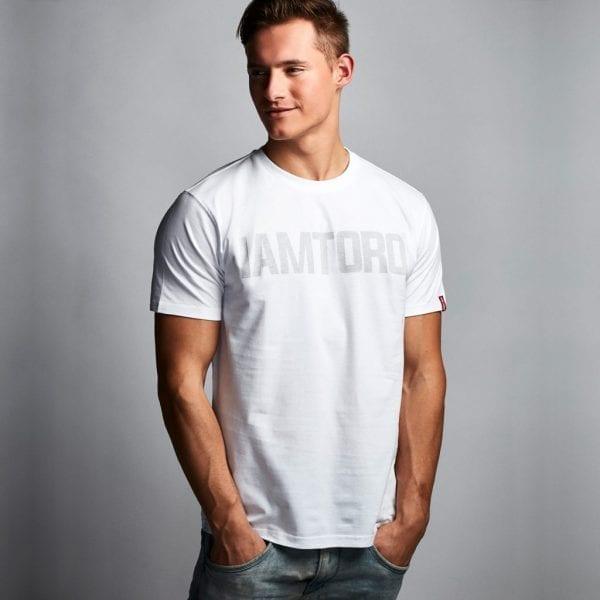 IAMTORO T-Shirt Logo Wit front
