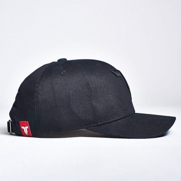 IAMTORO Baseball Cap Icon Zwart side