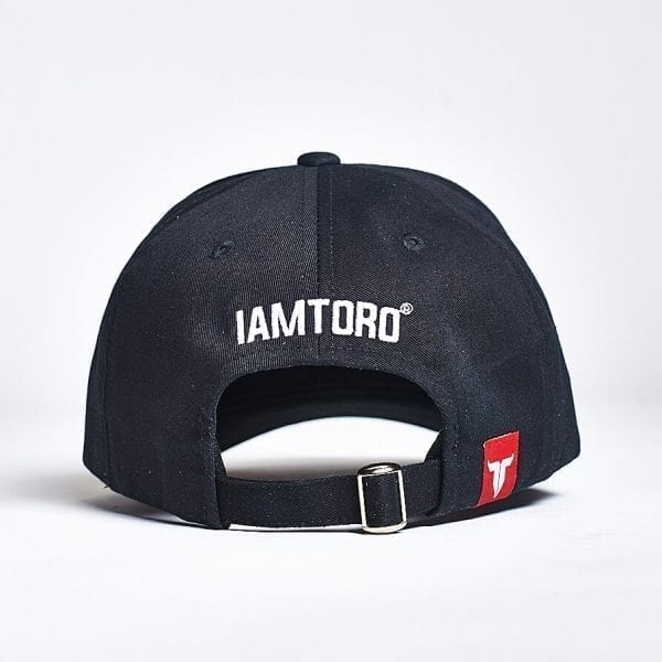 IAMTORO Baseball Cap Icon Zwart back