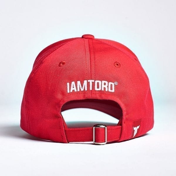 IAMTORO Baseball Cap Icon Rood back